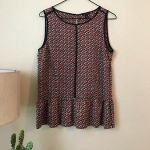 Ann Taylor | Sleeveless Top Size 8